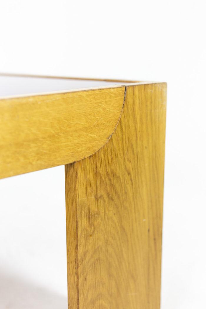 Wide coffee table in oak 4