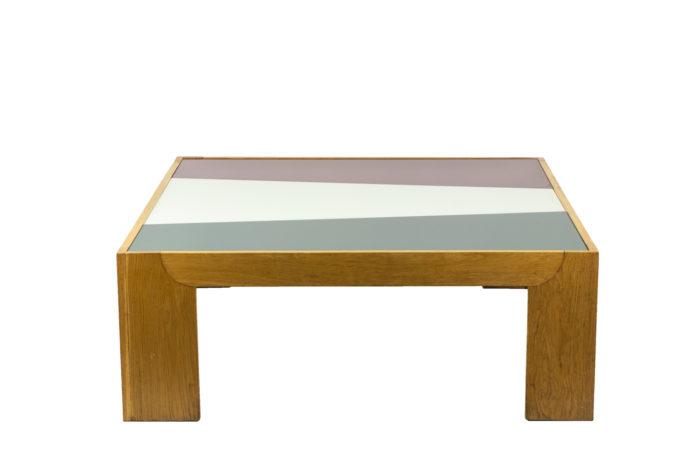 Wide coffee table in oak 3