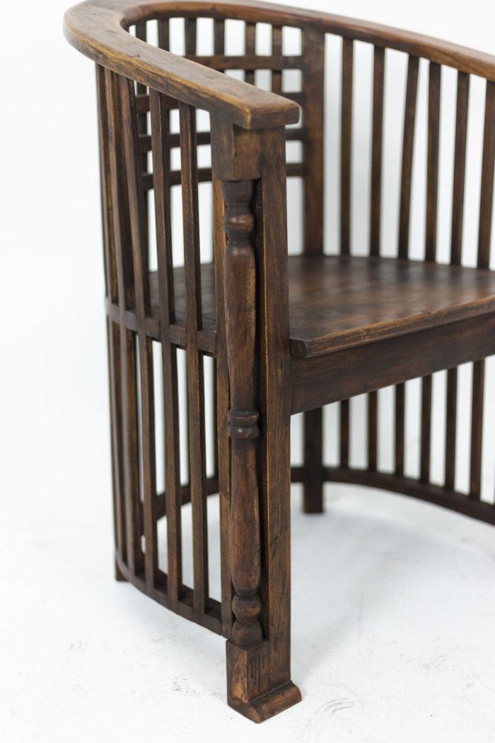 Josef Hoffmann, pair of armchairs 9