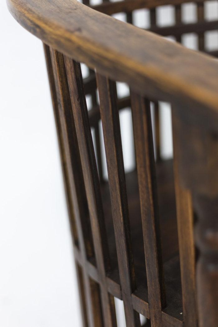 Josef Hoffmann, pair of armchairs 8