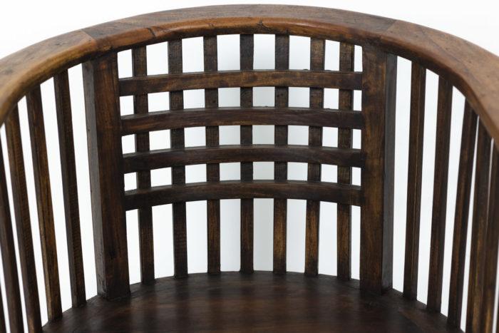 Josef Hoffmann, pair of armchairs 6