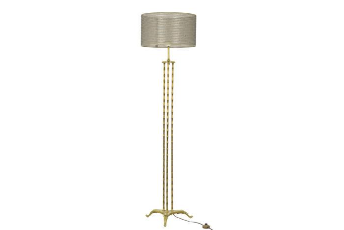 Bamboo style tripod Floor lamp 1
