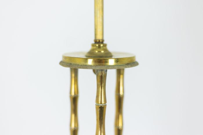Bamboo style tripod Floor lamp 2