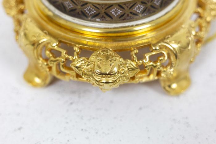 Lamp in Satsuma earthenware 4