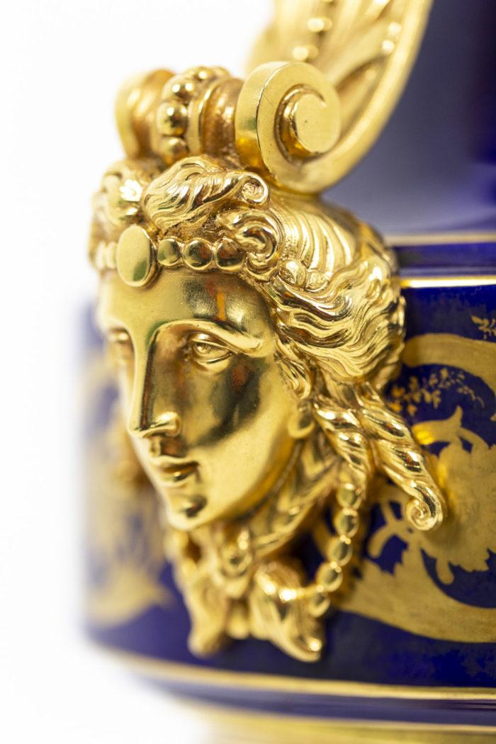 Lampe en porcelaine de Sèvres, détails 8