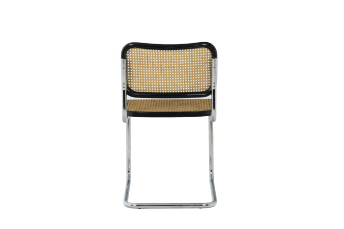 Marcel Breuer, Series of six canned chairs 4