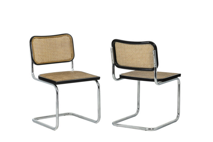 Marcel Breuer, Series of six canned chairs 2