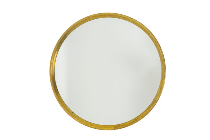 Series of nine mirrors in gilt brass 2