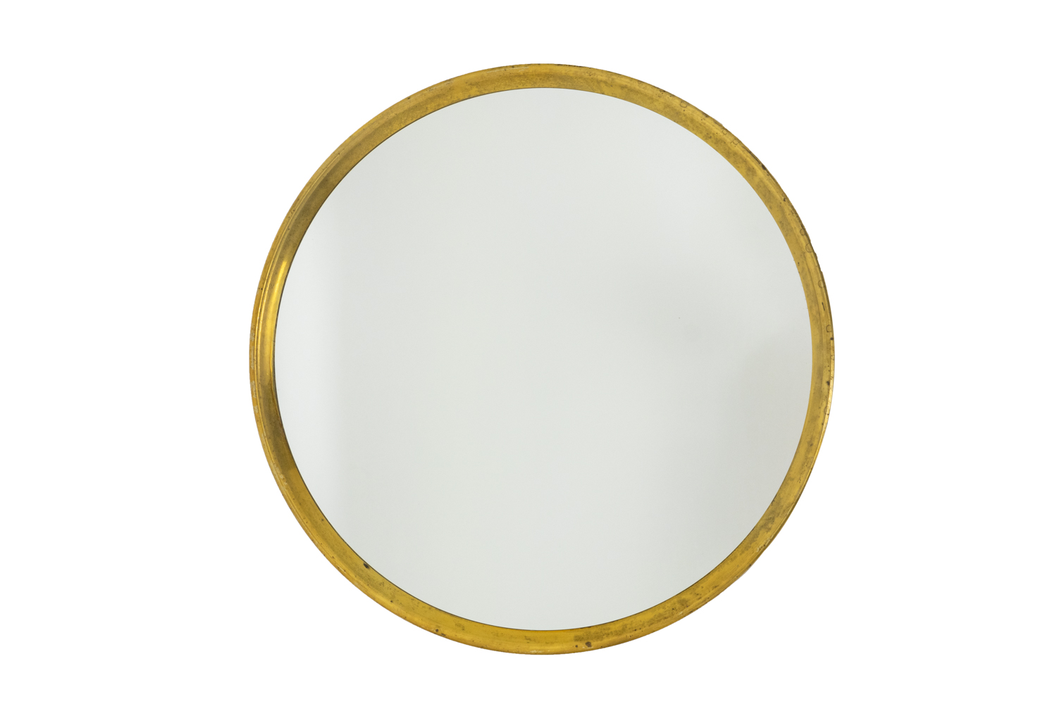 Series of seven mirrors in gilt brass 2