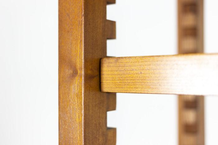 Pierre Chapo, meuble étagère détail étagère