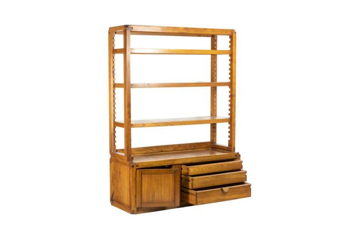 Pierre Chapo, meuble étagère ouvert