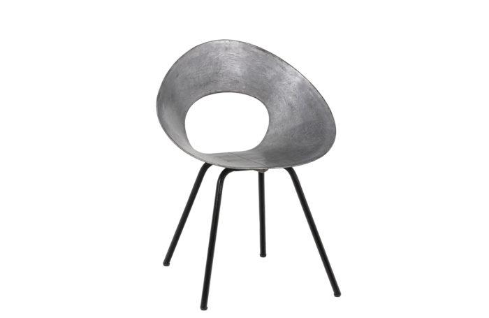 Donald Knorr, Chair 132U in metal