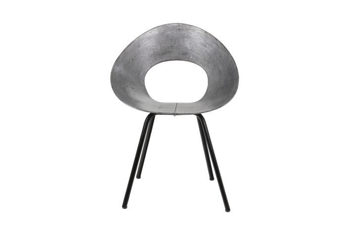 Donald Knorr, Chair 132U in metal 6