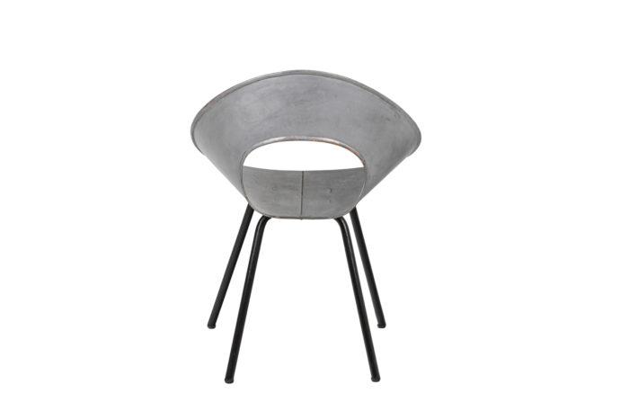 Donald Knorr, Chair 132U in metal 7