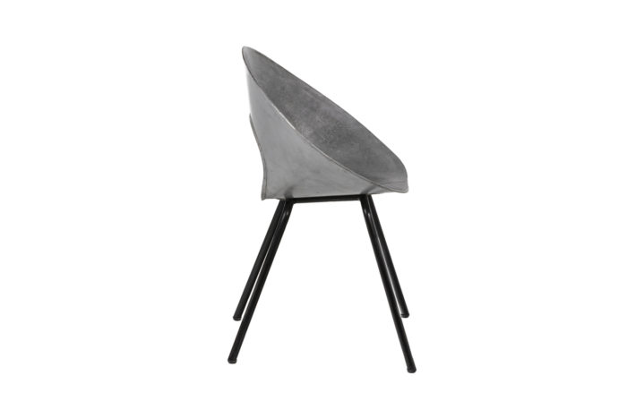 Donald Knorr, Chair 132U in metal 8