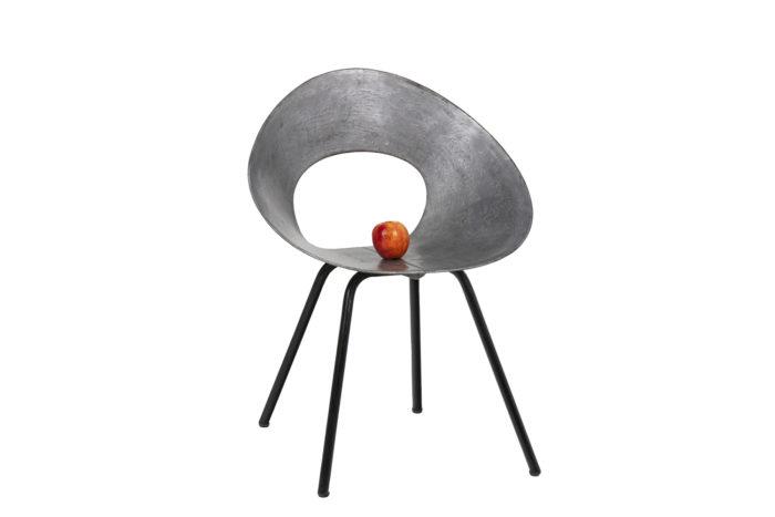 Donald Knorr, Chair 132U in metal 5