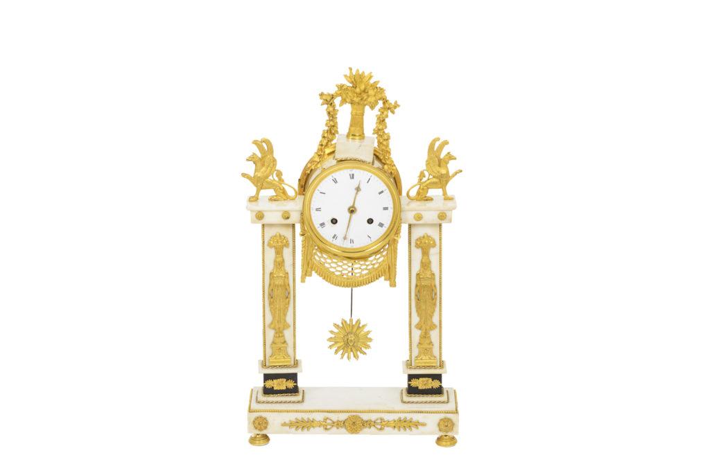 Portico clock, Directoire period