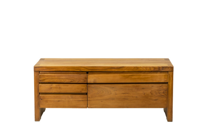 Pierre Chapo, Low cabinet in natural elm 12