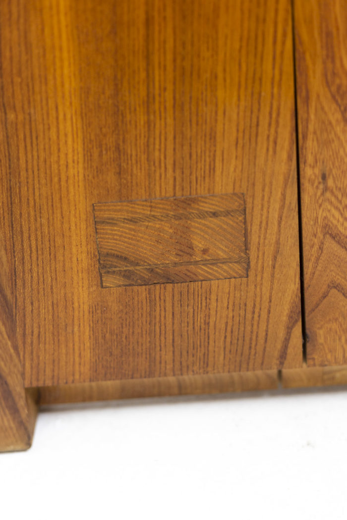 Pierre Chapo, Low cabinet in natural elm 3