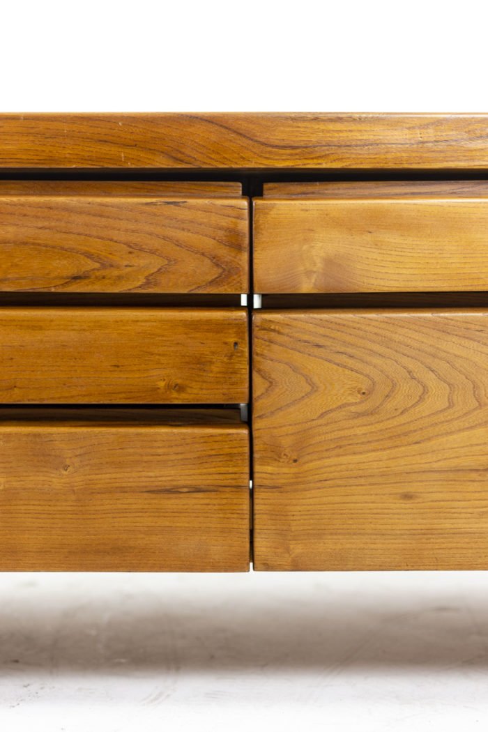 Pierre Chapo, Low cabinet in natural elm 4