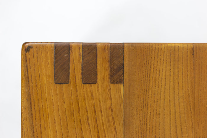 Pierre Chapo, Low cabinet in natural elm 5