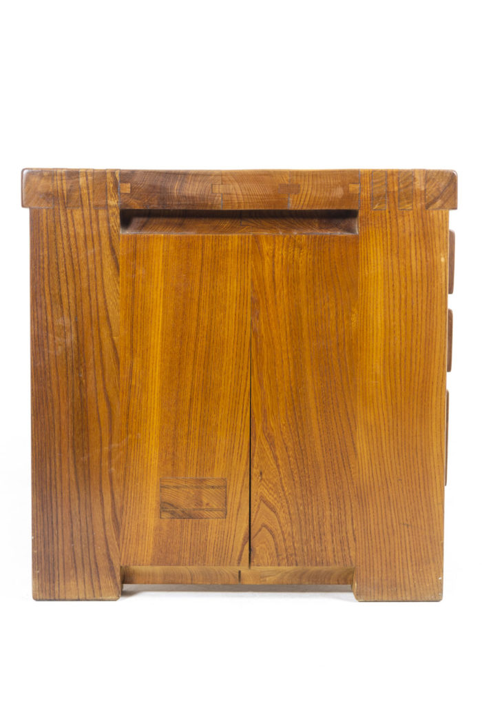 Pierre Chapo, Low cabinet in natural elm 6