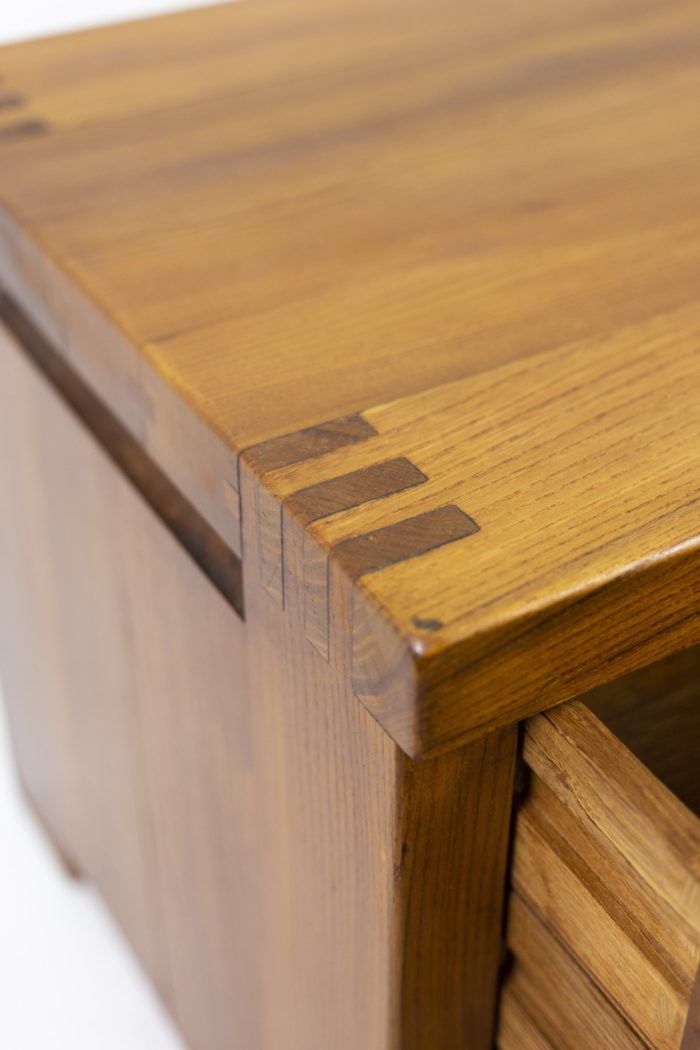 Pierre Chapo, Low cabinet in natural elm 9