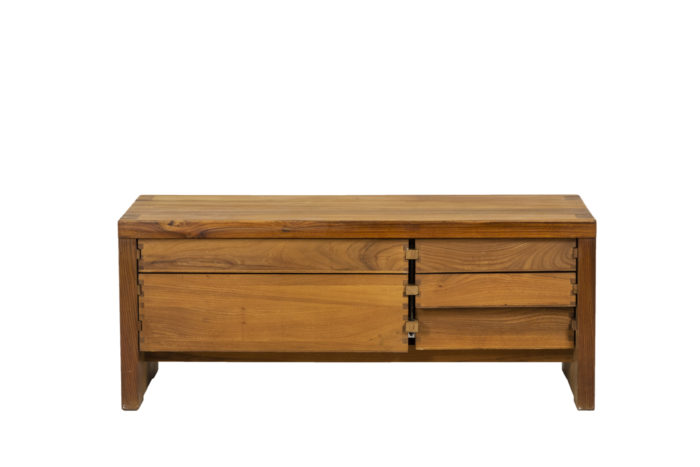 Pierre Chapo, Low cabinet in natural elm 1