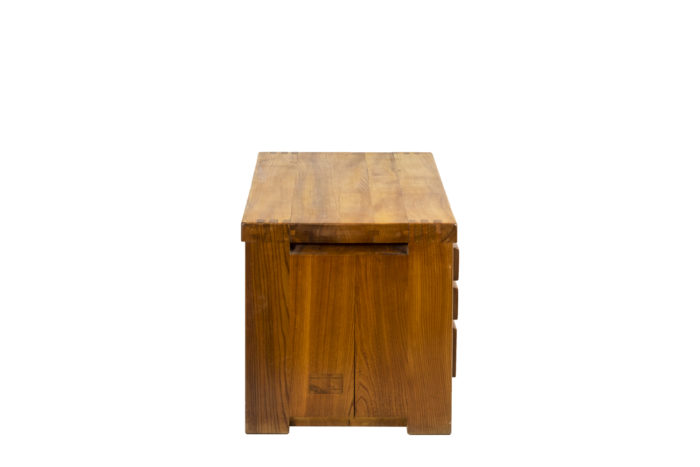 Pierre Chapo, Low cabinet in natural elm 2