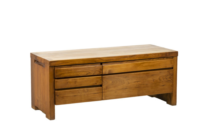 Pierre Chapo, Low cabinet in natural elm