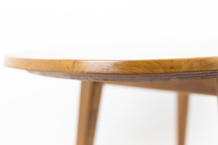 Dining table in natural elm 1