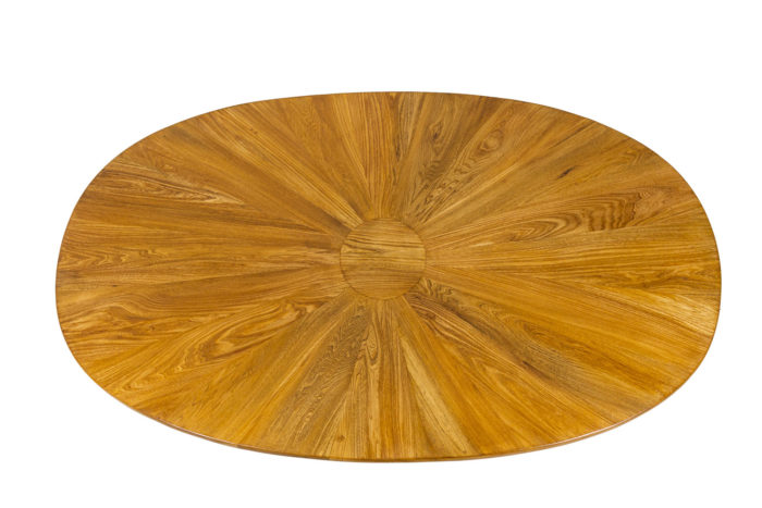 Dining table in natural elm 4