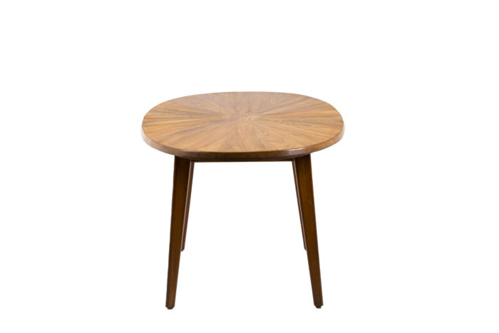 Dining table in natural elm 5
