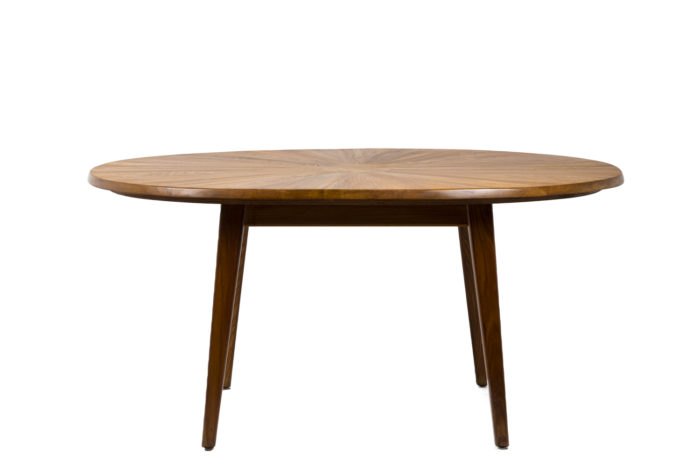 Dining table in natural elm 6