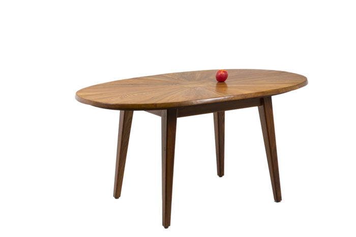 Dining table in natural elm 3