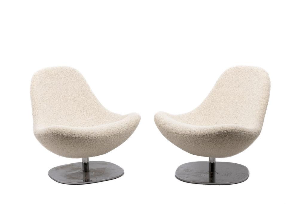Carl Öjerstam, Paire de fauteuils Tirup, 2007