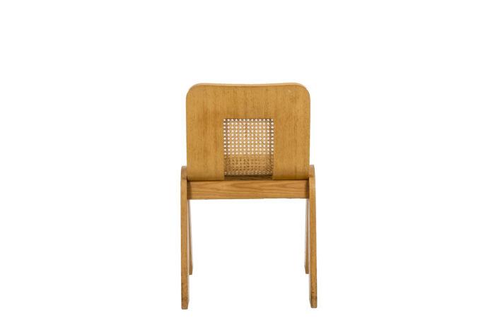 4 Chaises design italien -dos