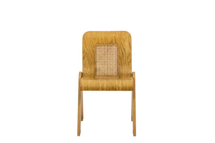 4 Chaises design italien - face