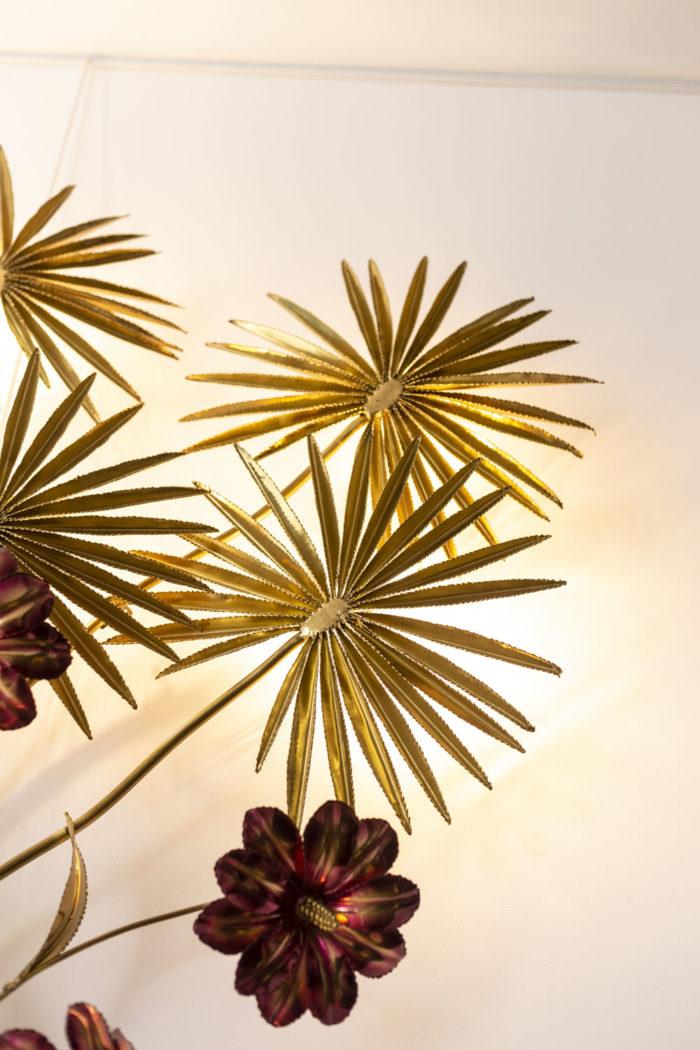 Applique - grandes feuilles