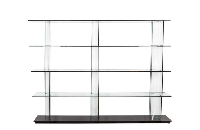 Inori glass bookcase - face