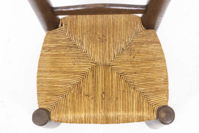 Chaises boules sculptées - assise