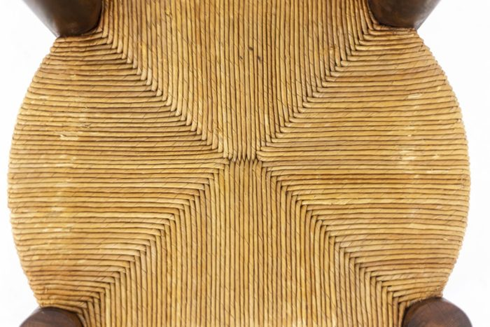 Chaises paille - assise