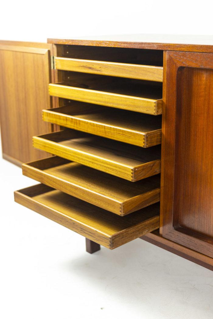 Enfilade - tiroirs ouverts