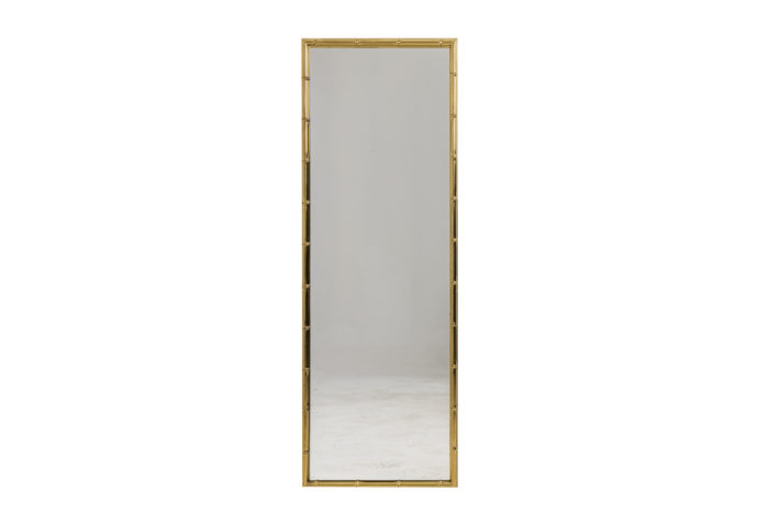 Miroir bambou - face