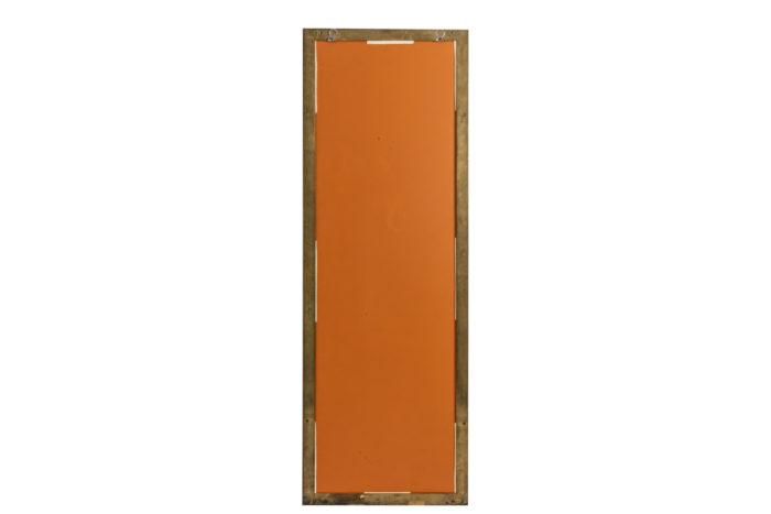 Miroir bambou - dos