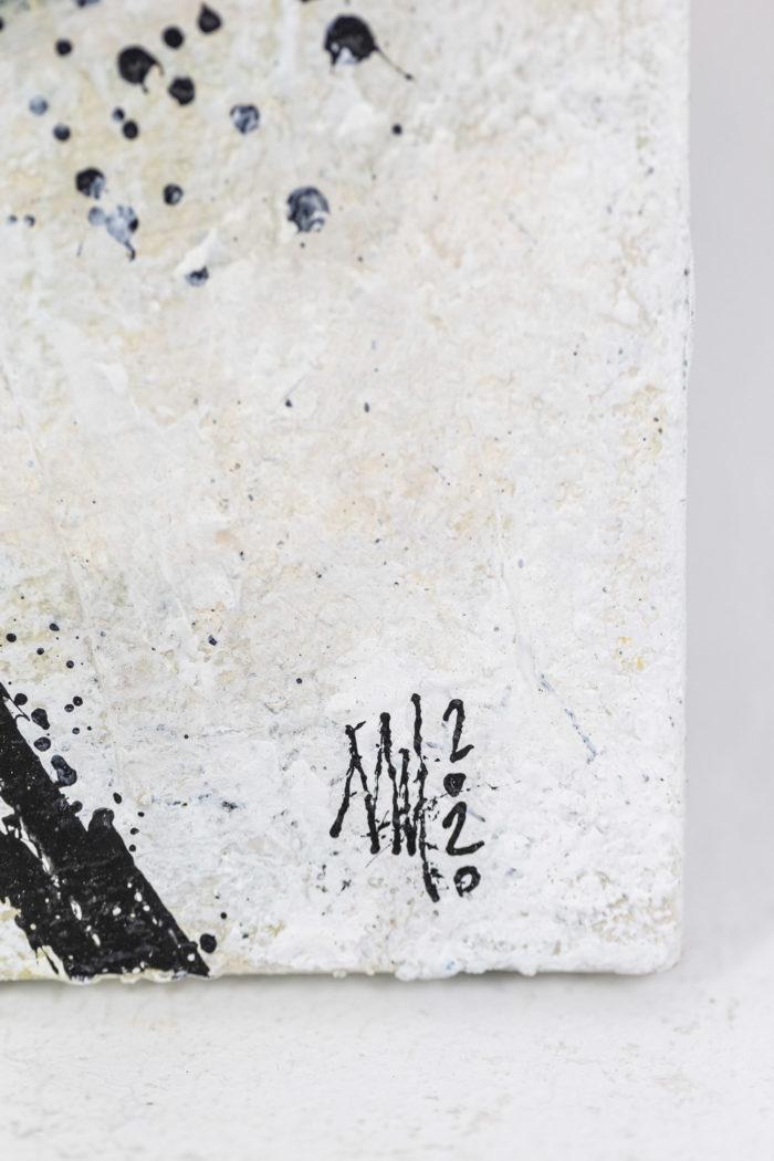 Tableau 3 - signature