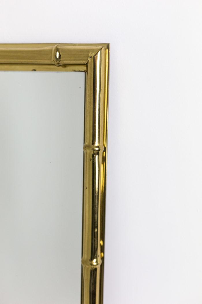 Miroir bambou - côté