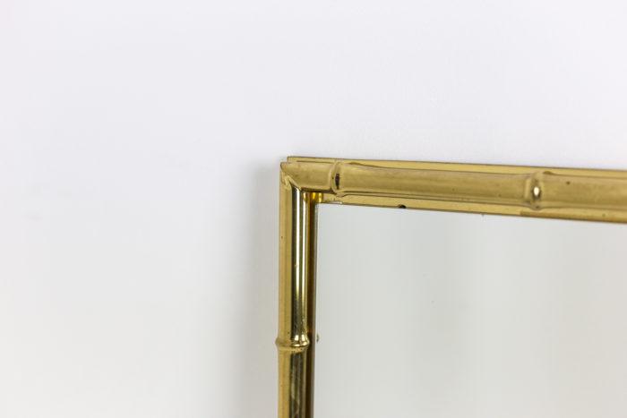 Miroir bambou - autre côté