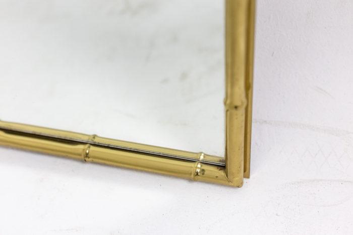 Miroir bambou - bas