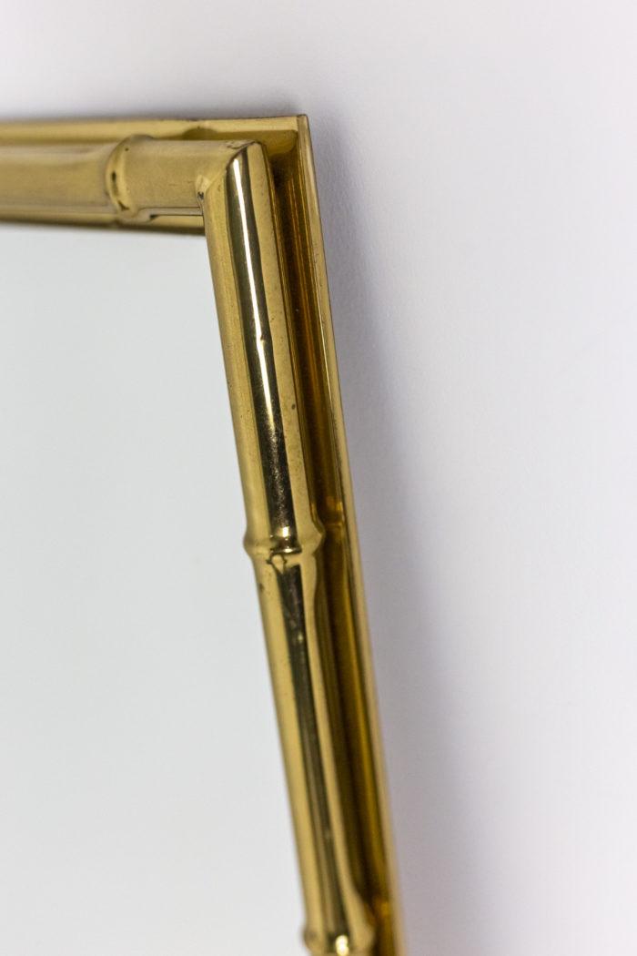 Miroir bambou - baguette